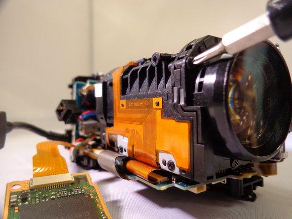 Sony Handycam CX260V Housing Dissasembly