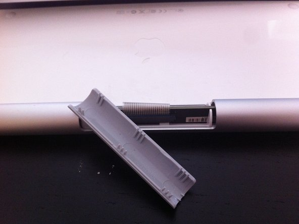 Disassembling the Board, Power Button, and Battery Compartment of an Apple Wireless Keyboard