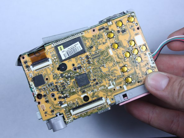 Kodak Easyshare C813 Logic Board Replacement