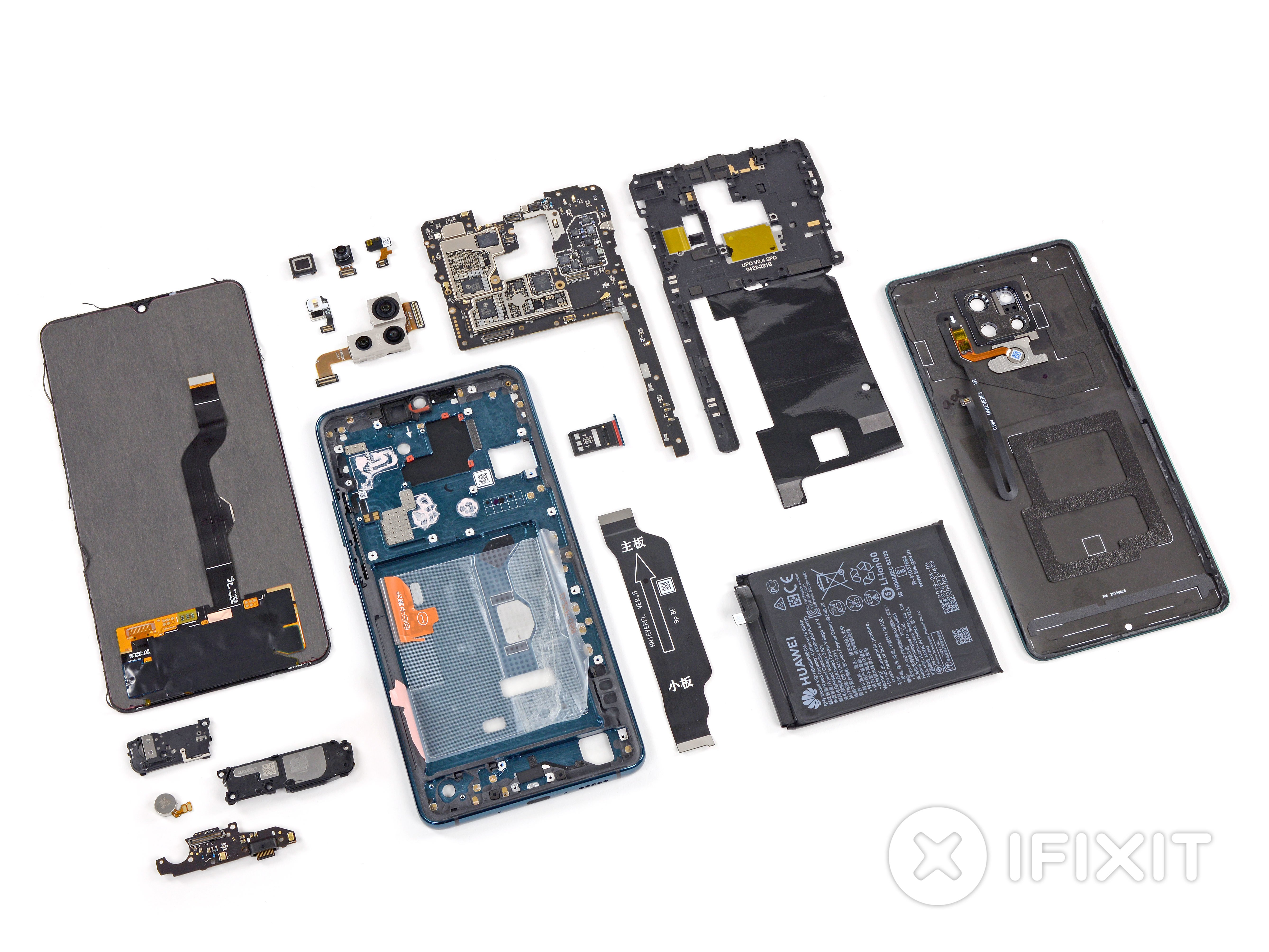 Huawei Mate 20 X 5G Teardown - iFixit