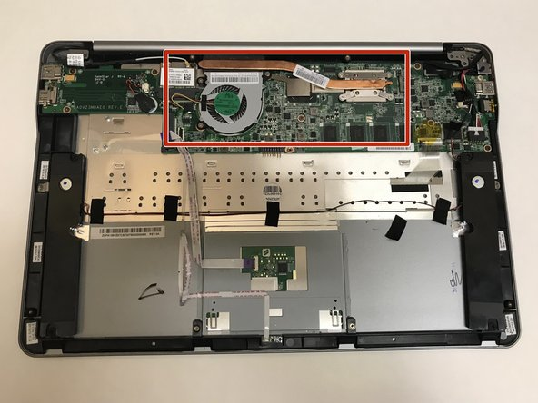 Vizio CT15 CPU Fan Replacement