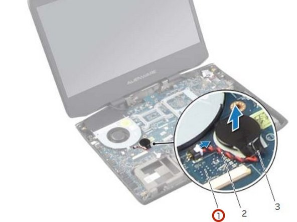 CAUTION: Removing the coin-cell battery resets the BIOS settings to default. It is recommended that you note the BIOS settings before removing the coin-cell battery.