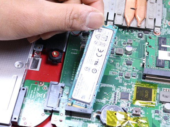 Image 2/2: If the old SSD you removed contains the operating system, then the new SSD must also contain an operating system.