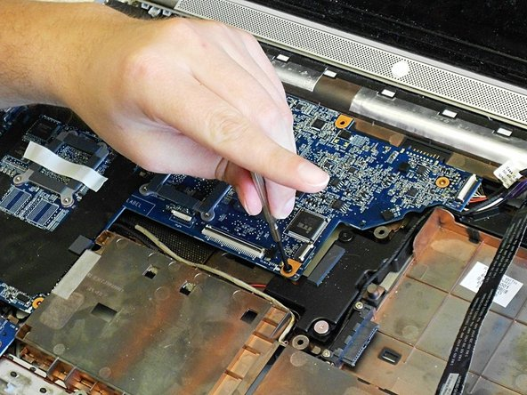 Image 2/3: CAUTION: Be careful not to bend or break the motherboard body or USB ports.