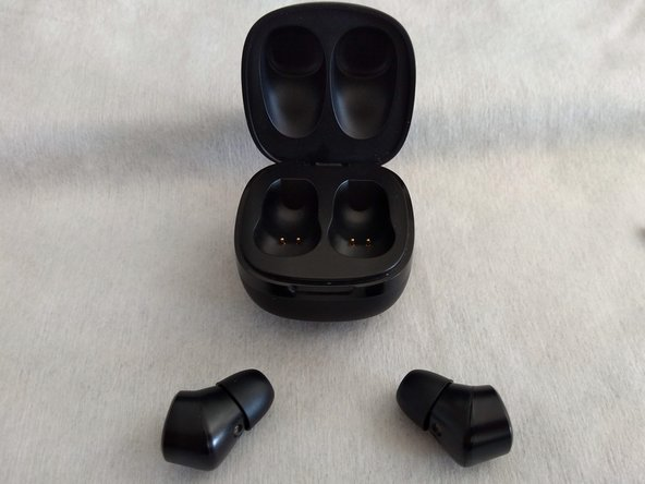 Let's start by the basics, take the earbud(s) out and remove the silicone tip by pulling the cup outwards