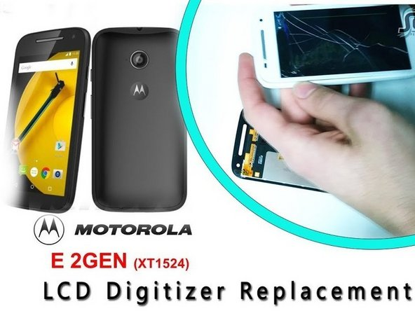 Motorola Moto E 2nd Generation Display Replacement