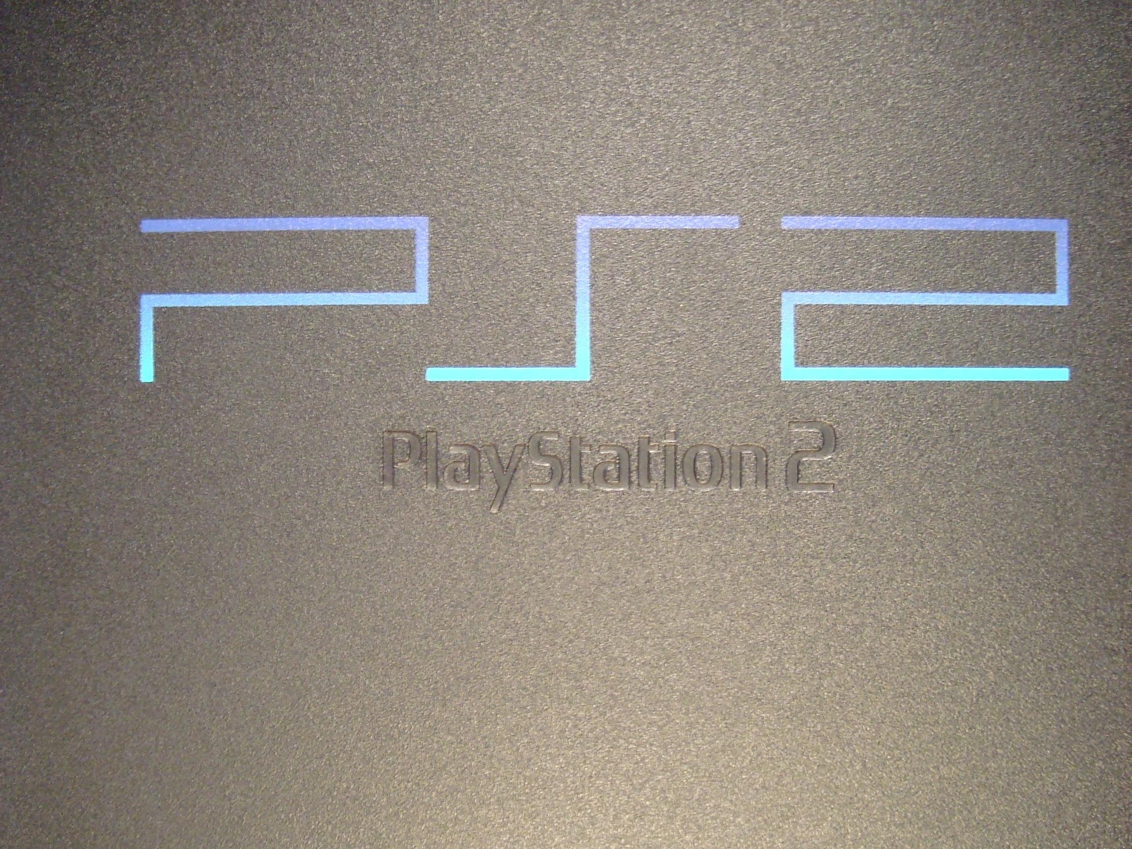 sony playstation 2 logo. sony playstation 2 logo