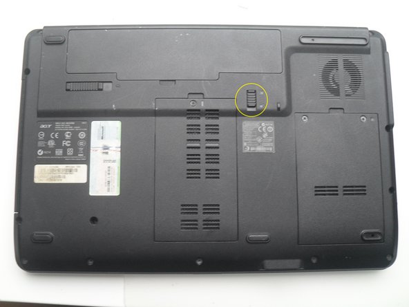 Acer Aspire 5541 Battery Replacement