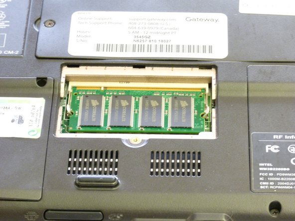 Gateway 3545GZ RAM Replacement