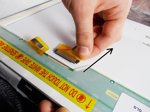 Be careful on this step, using too much force when removing the cable can damage either end of the connection.
