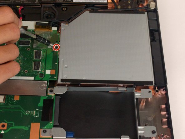Asus X751L DVD Drive Replacement