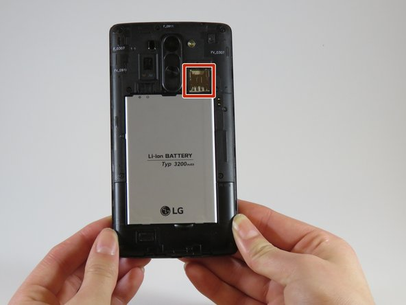 LG G Vista Micro SD Card Replacement