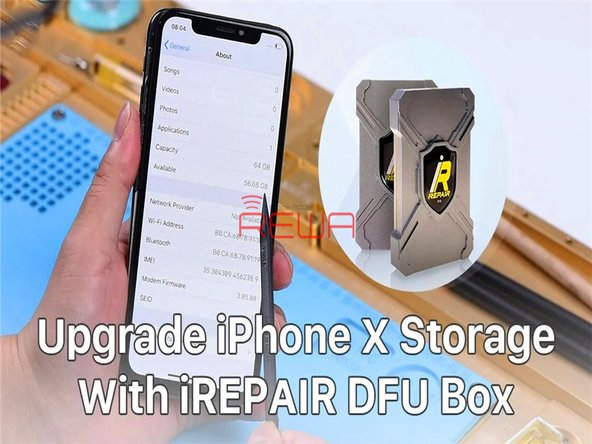 How To Upgrade iPhone X 64GB Storage To 256GB
