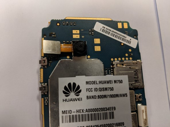 Huawei M750 Camera Replacement