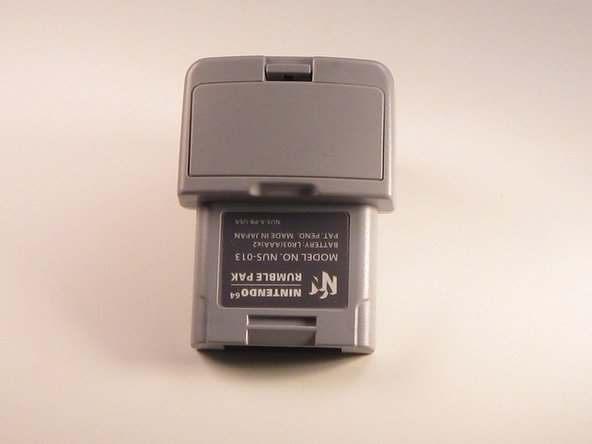 Nintendo 64  Rumble Pak Battery Replacement