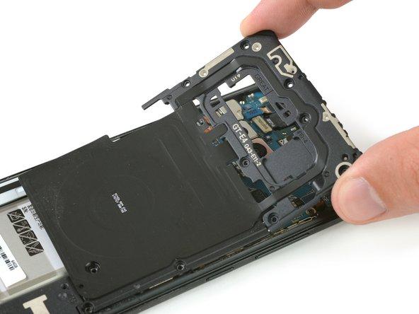 Sostituzione antenna NFC e bobina di ricarica Samsung Galaxy Note8
