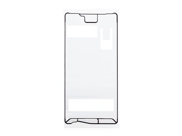 Original LCD Supporting Frame Sticker for Sony Xperia X Main Image