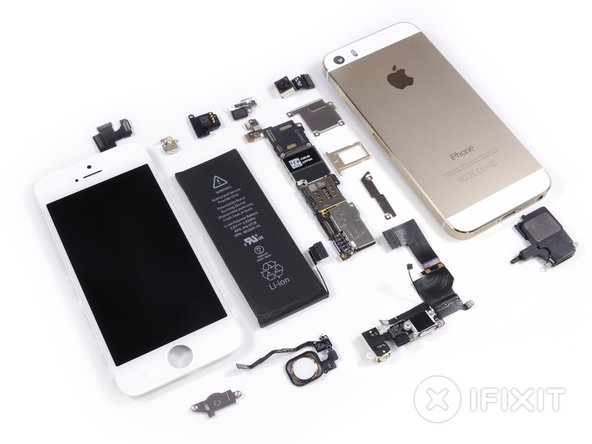 ifixit iphone 5s battery iphone 5s teardown ifixit 1729