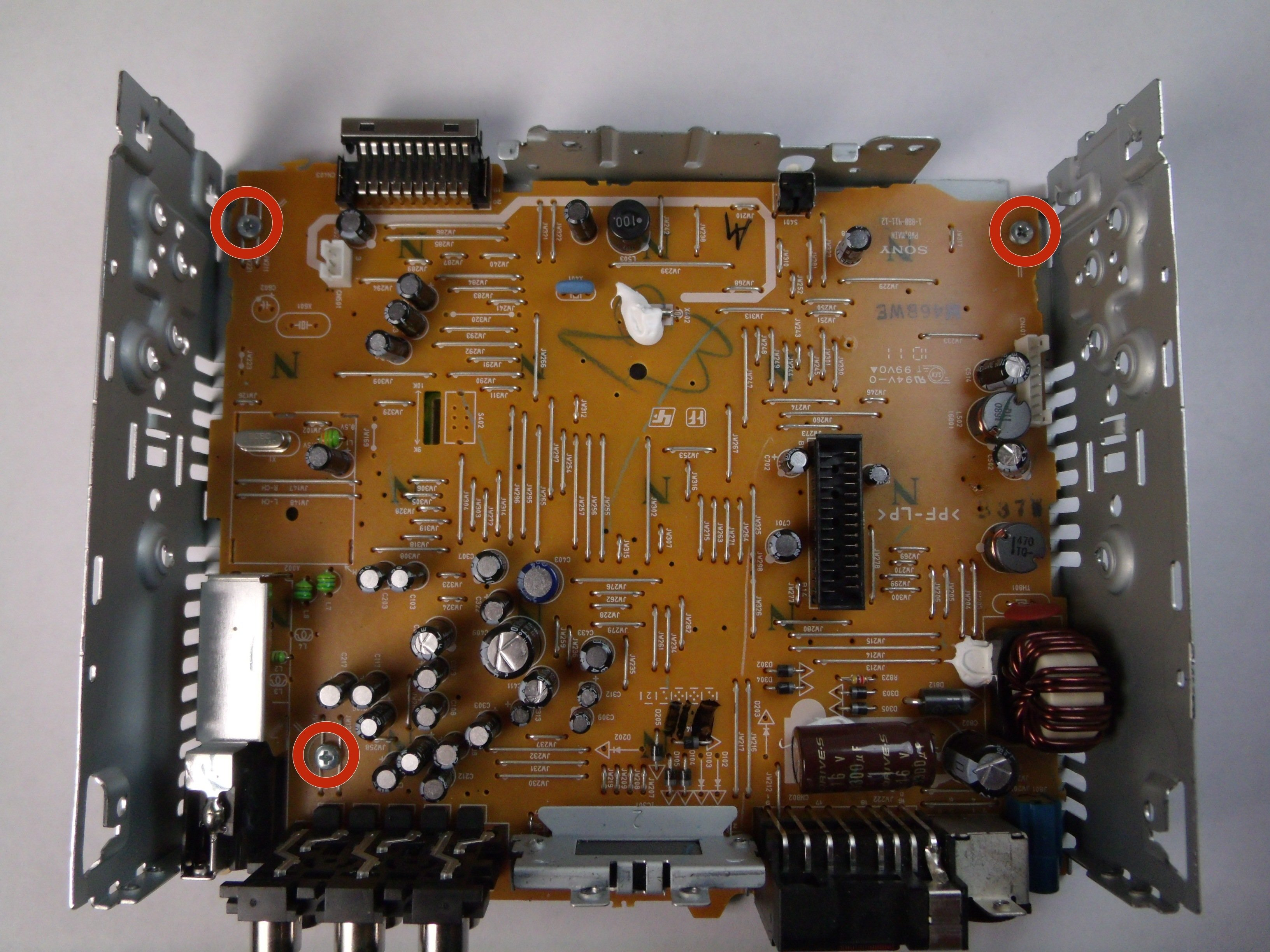 Sony Cdx-gt540ui Motherboard Replacement