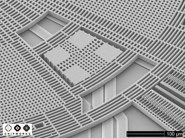 Image 2/2: MEMS devices require extremely complicated and sensitive [link|http://en.wikipedia.org/wiki/Microelectromechanical_systems#MEMS_manufacturing_technologies|manufacturing procedures] to produce the kind of accuracy needed for reliable sensors.