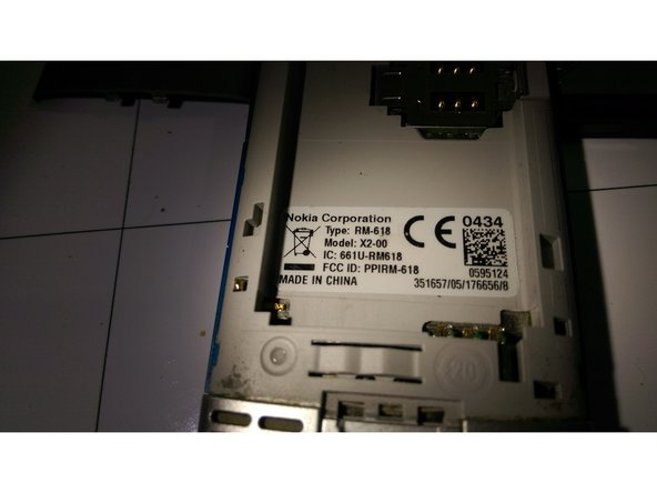 Image 3/3: after that remove the battery and sim card