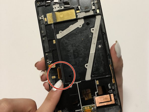 When replacing with the new LCD be sure to fold the display flex to ensure a safe insert.