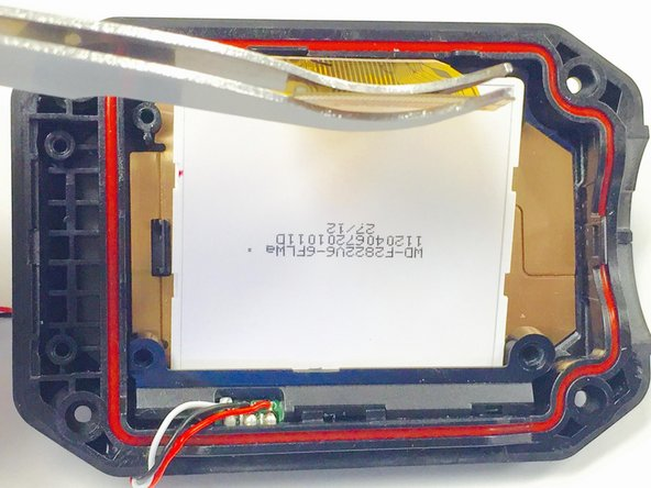 JVC Adixxion GC-XA1BU LCD Screen Replacement