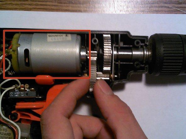Install new motor.