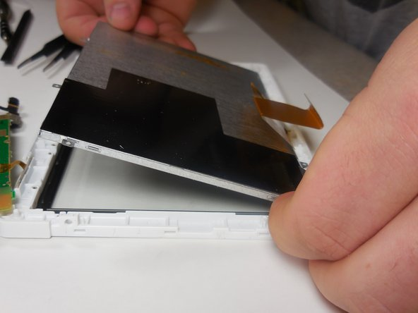 To reassemble tablet, follow these steps in reverse order.