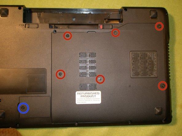 Completely loosen the 6 captive screws from the rear access panel, unsnap and remove the panel.