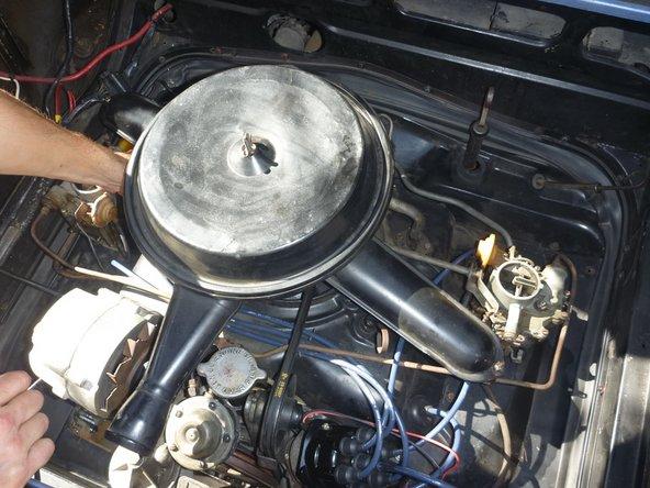 Ajuste de ralentí del carburador
