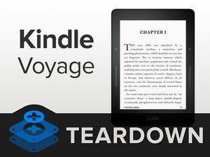 Kindle Voyage Teardown