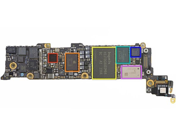 Image 1/2: Qualcomm PM8018 RF power management IC