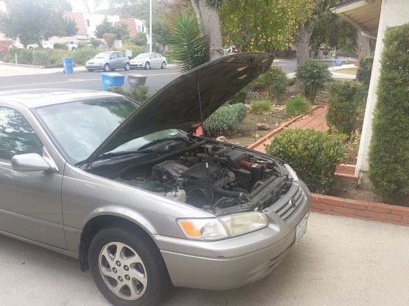 1997-2001 Toyota Camry Headlight Bulb Replacement