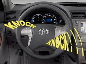 How to Fix Steering Wheel Noise 2002-2006 Toyota Camry