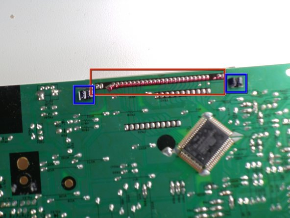 De-solder LCD screen pins from the motherboard.