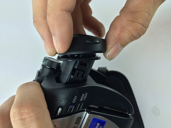 Once loosened gently pull and remove lens housing. The lens should now be free to inspect and replace.