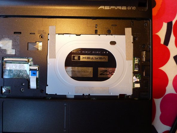 Acer Aspire One D257 HDD Replacement