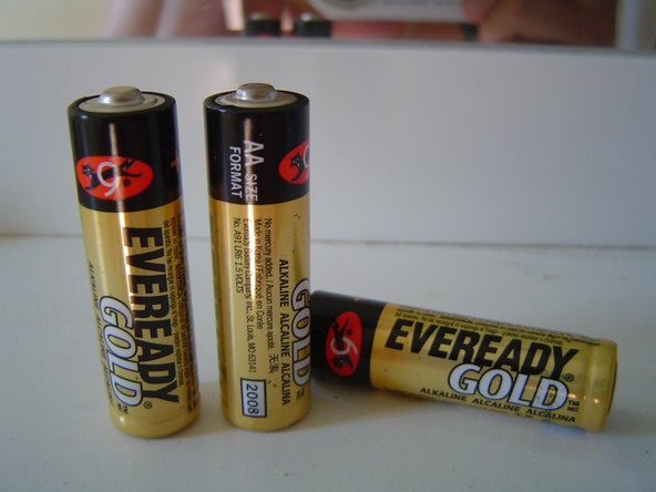 Any type of dry AA/AAA battery will work, such as NiMH, NiZN, MiCD, etc.