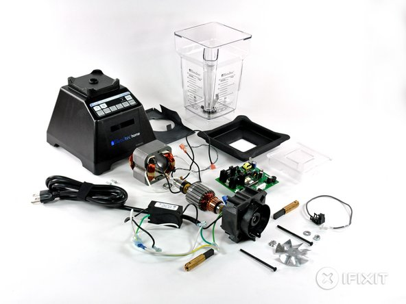 So ends the teardown of the Blendtec Total Blender. This is one of those devices that we are very leery about reassembling and using...