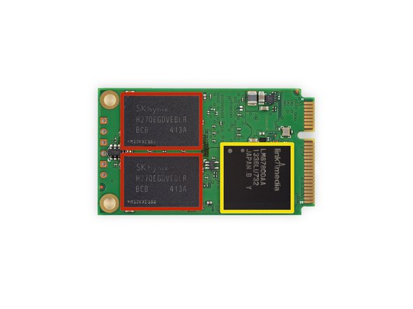 Image 3/3: Link A Media LM87800AA SSD Controller