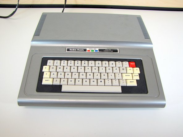 TRS-80 Color Computer Outside Casing Replacement