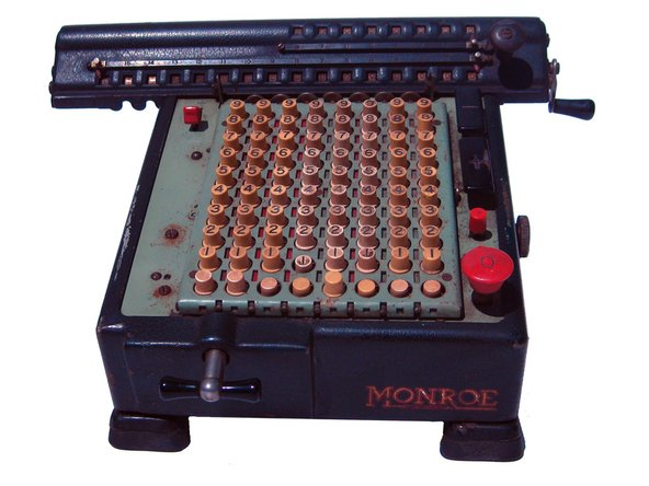 Disassembling Monroe LA5-160 calculator completely
