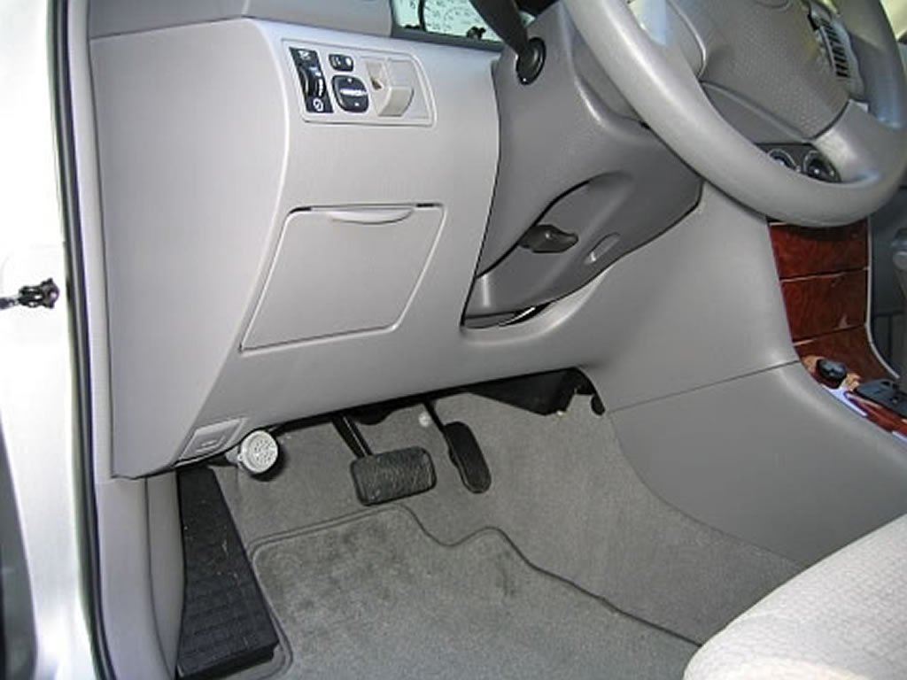 2003 2008 toyota corolla finding the fuse box 2003 2004. Black Bedroom Furniture Sets. Home Design Ideas