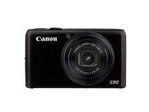 Canon PowerShot S90 Repair