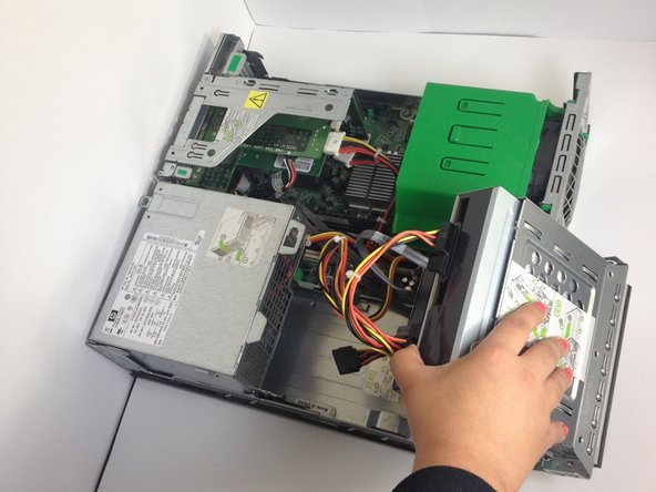 HP rp5700 Hard Drive Replacement