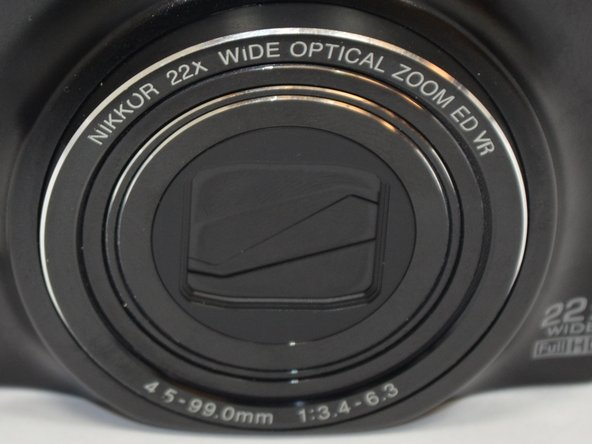 Nikon COOLPIX S9500 Lens Replacement