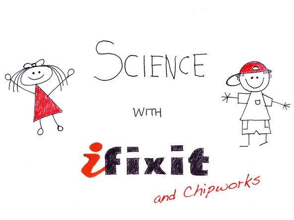 Welcome to the third installment of Science with iFixit. This time around, we've got a helping hand from our buddies at Chipworks.