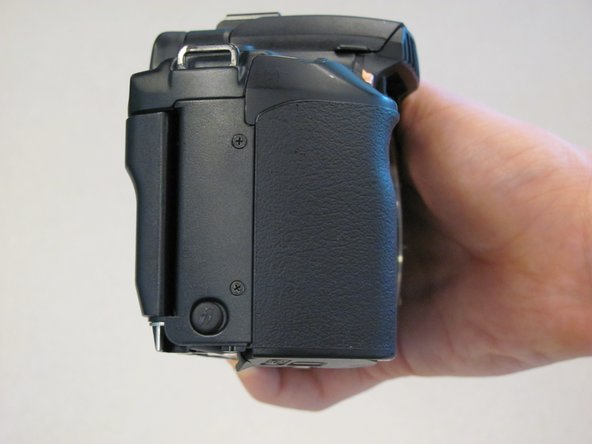 Canon EOS 30 Side Panel With Remote Control Socket Replacement