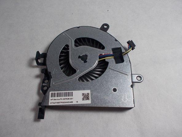 HP ProBook 450 G3 Fan Replacement